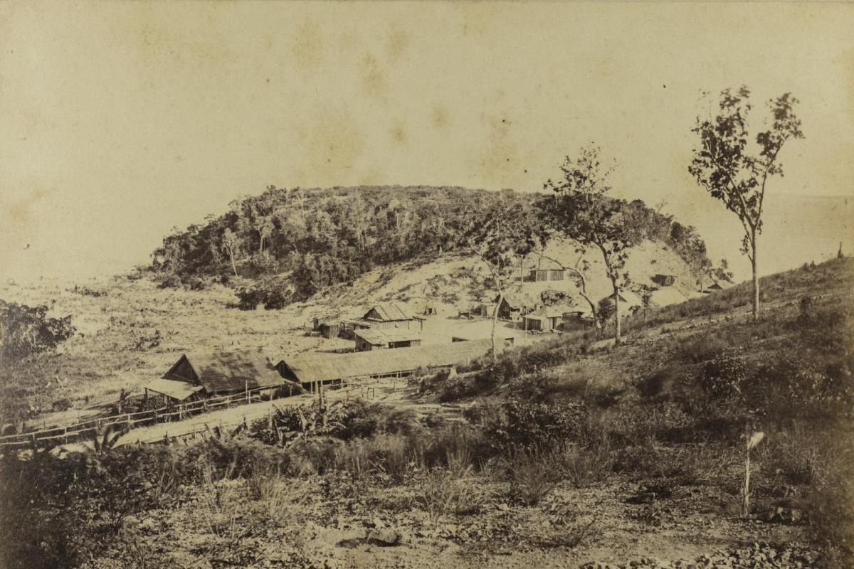 Main Camp, Fort Hill