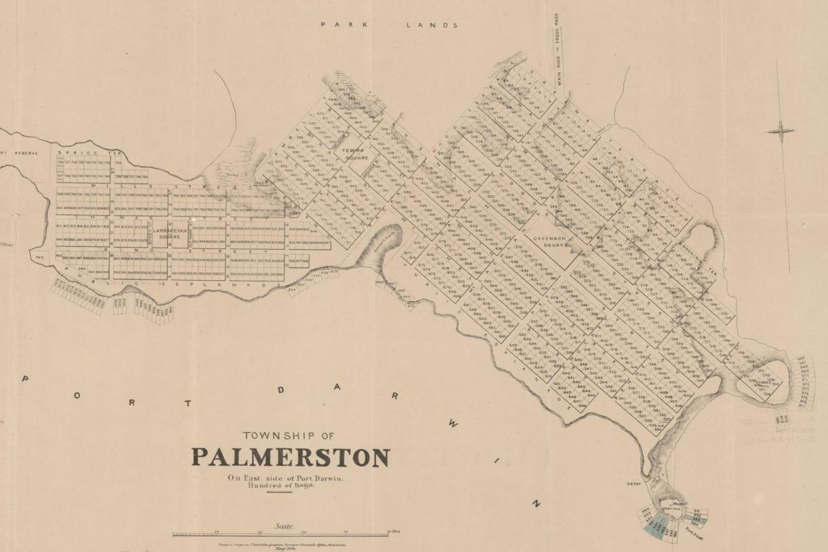 Township of Palmerston, 1870