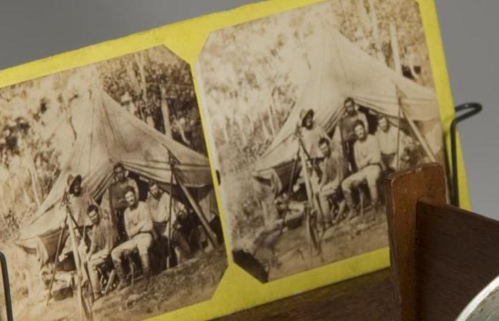 Goyder stereoscopic apparatus