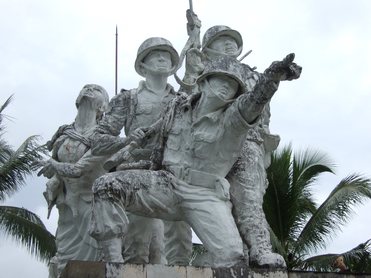 Trisula Monument South Blitar